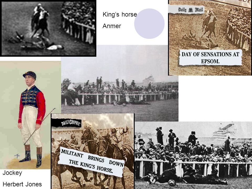 King's horse Anmer Jockey Herbert Jones J.Doyle