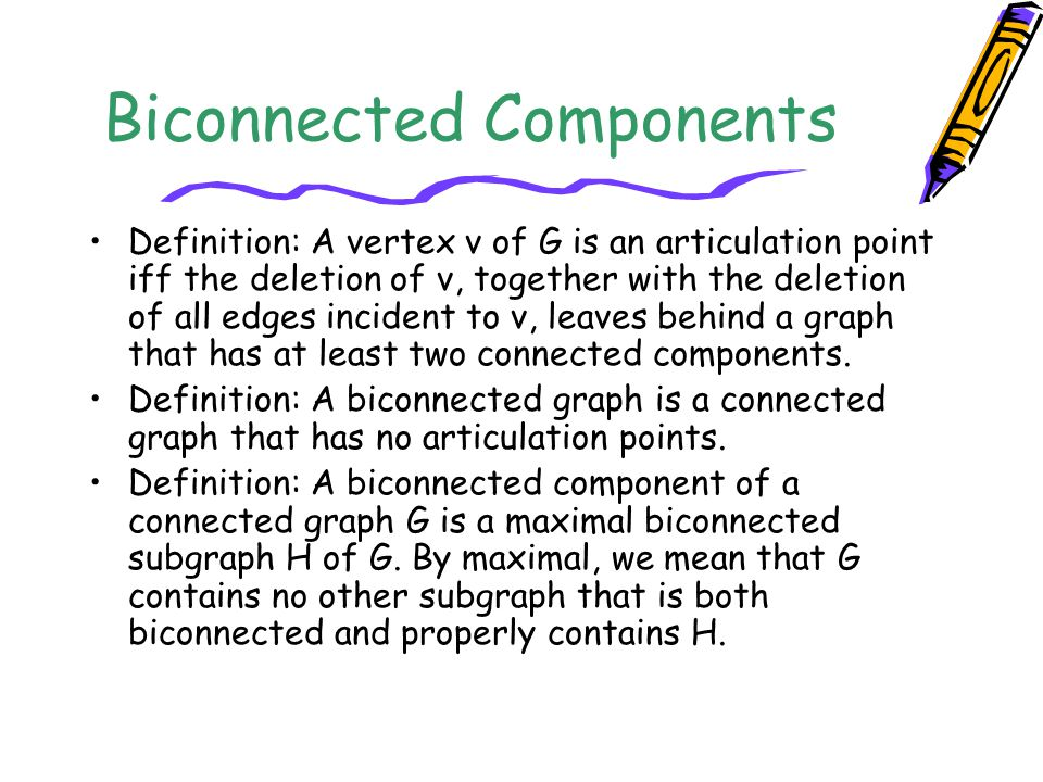 Biconnected Components