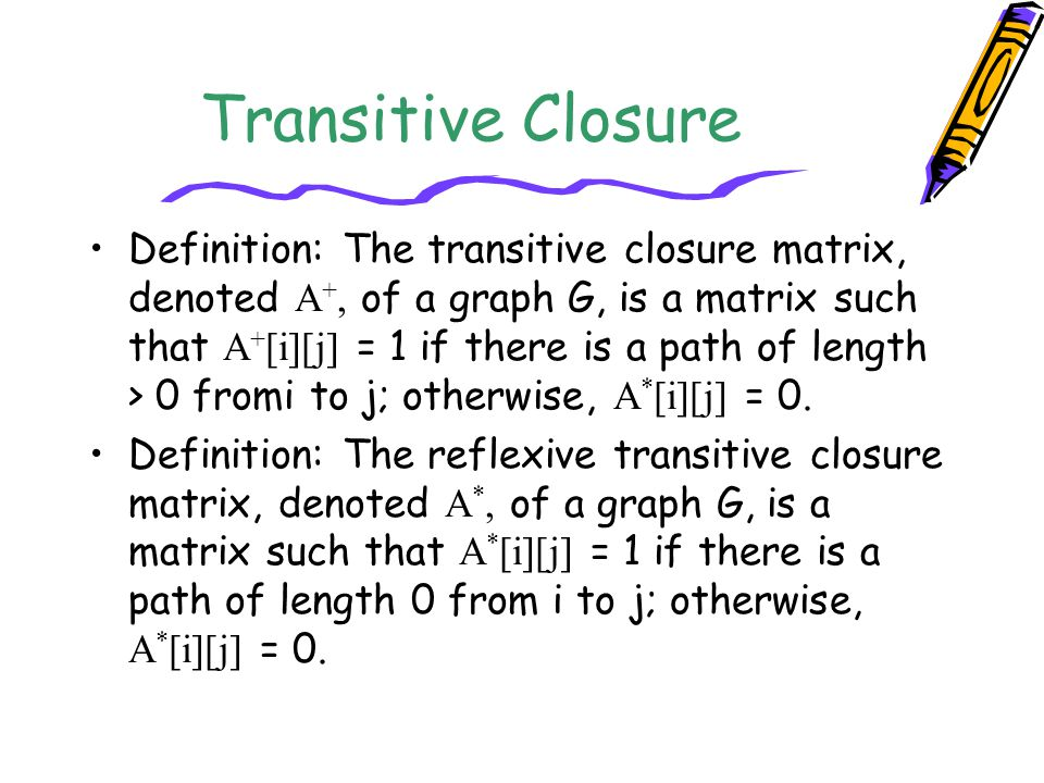 Transitive Closure