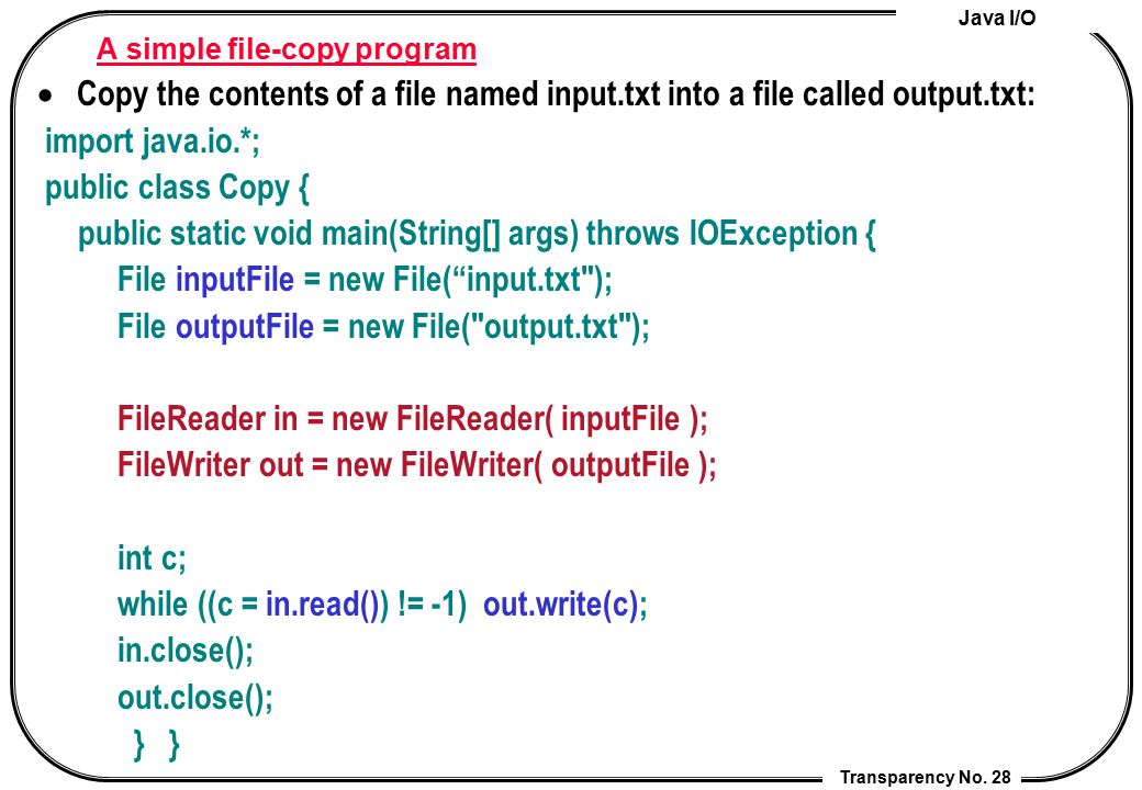 A simple file-copy program