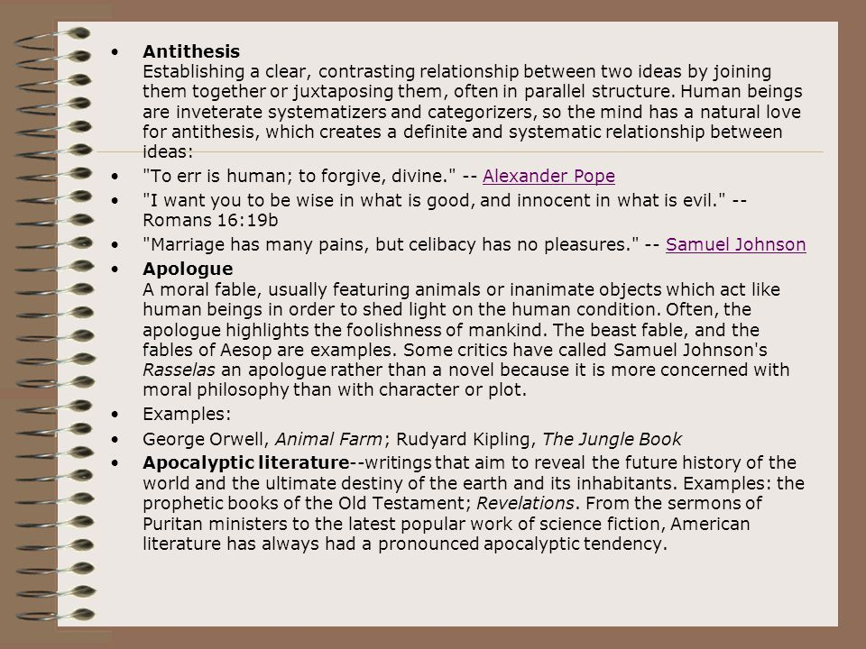 difference between epigram antithesis List if figures of speech - antithesis definition and examples of antithesis.
