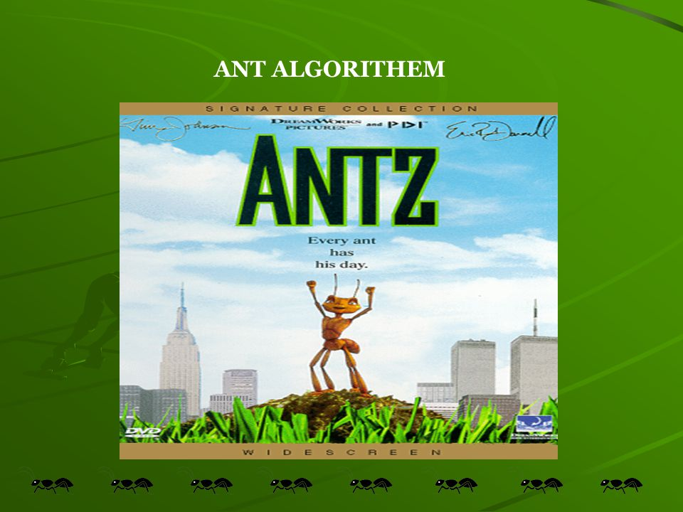 ANT ALGORITHEM
