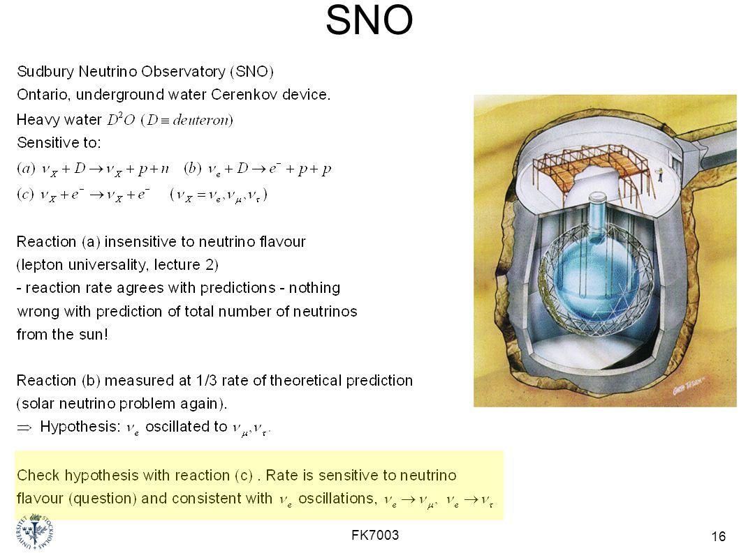 SNO FK7003