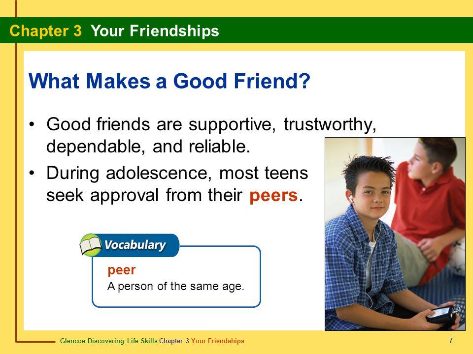 What Makes a Good Friend