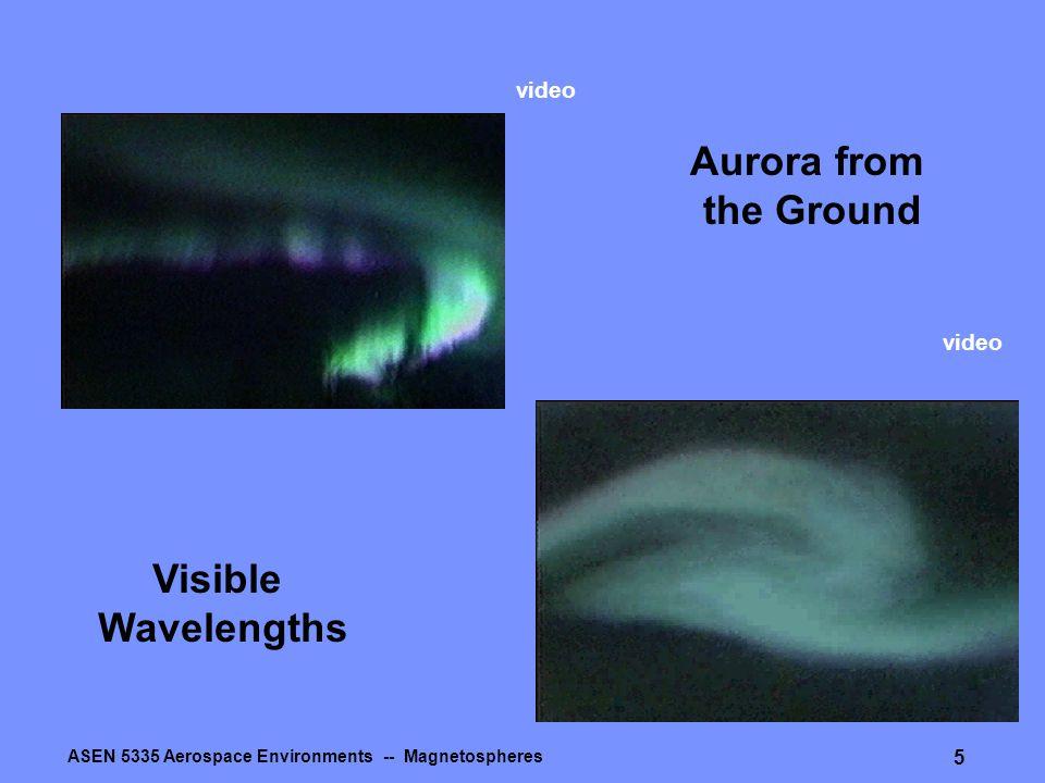 ASEN 5335 Aerospace Environments -- Magnetospheres