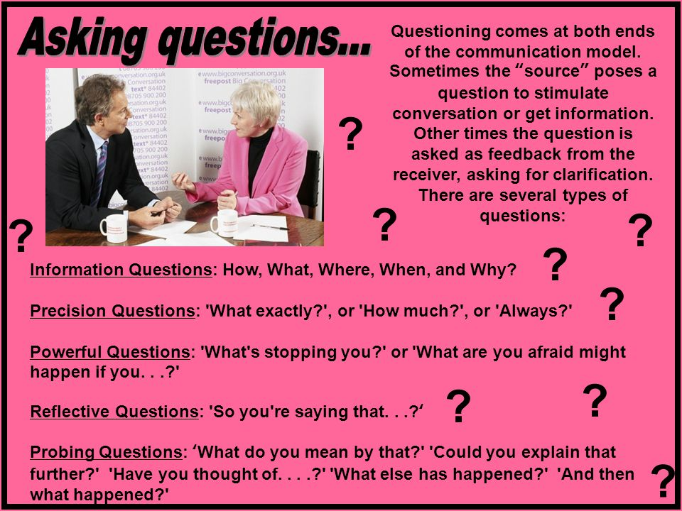 Asking questions...