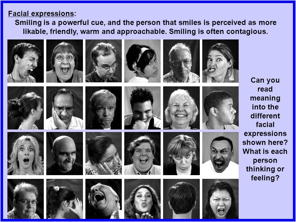 Facial expressions: