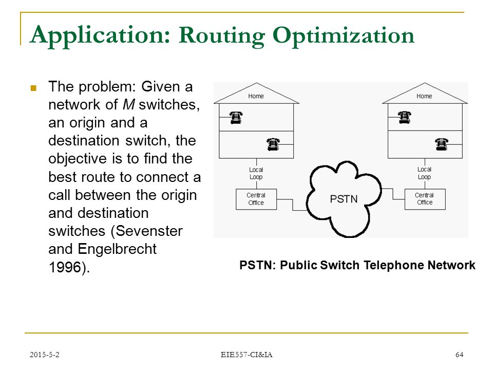 Application: Routing Optimization