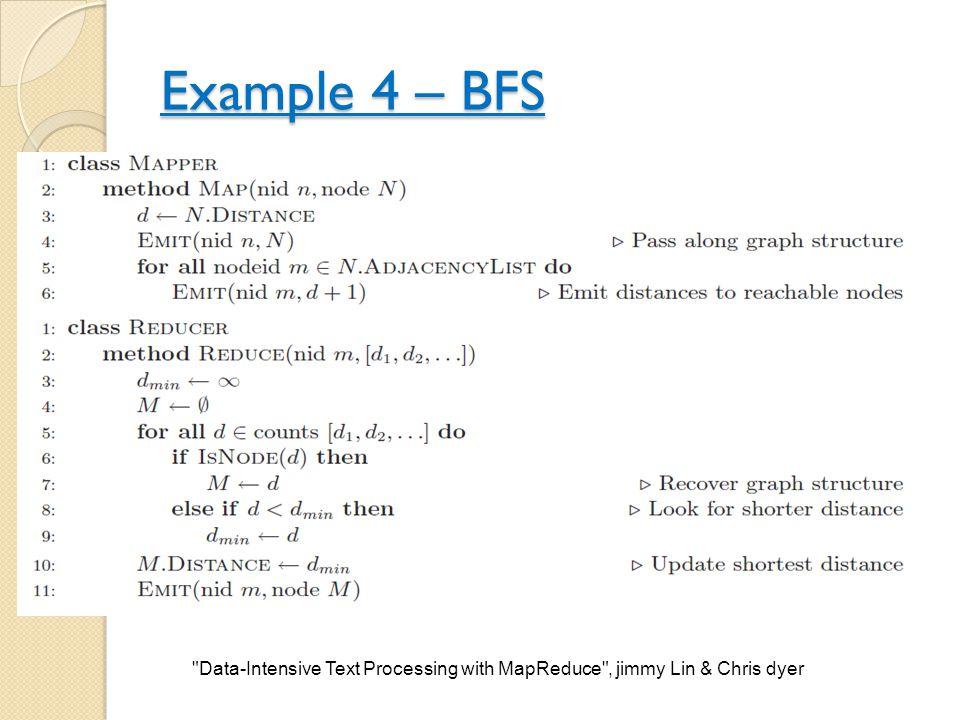 Example 4 – BFS