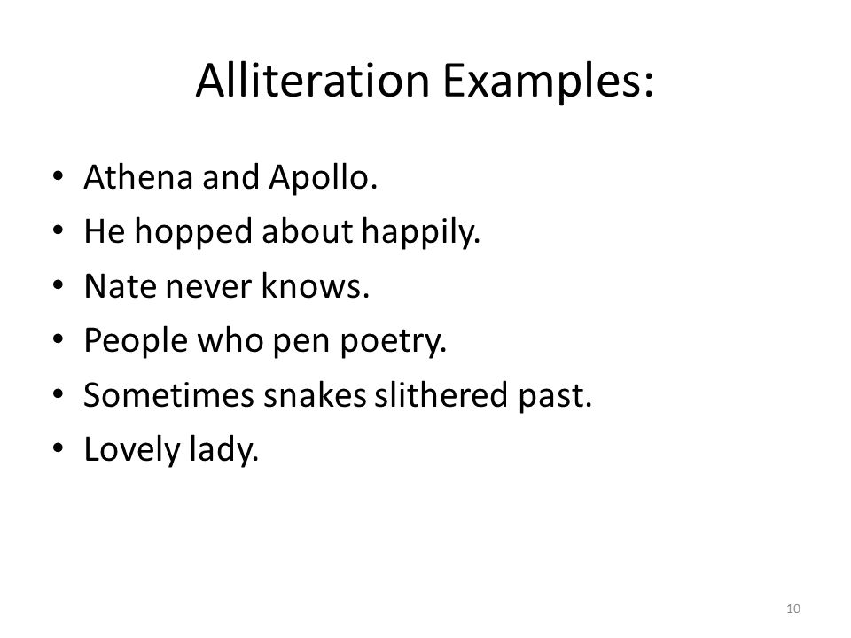 Elements of poetry and fiction ppt download for Alliteration poem template
