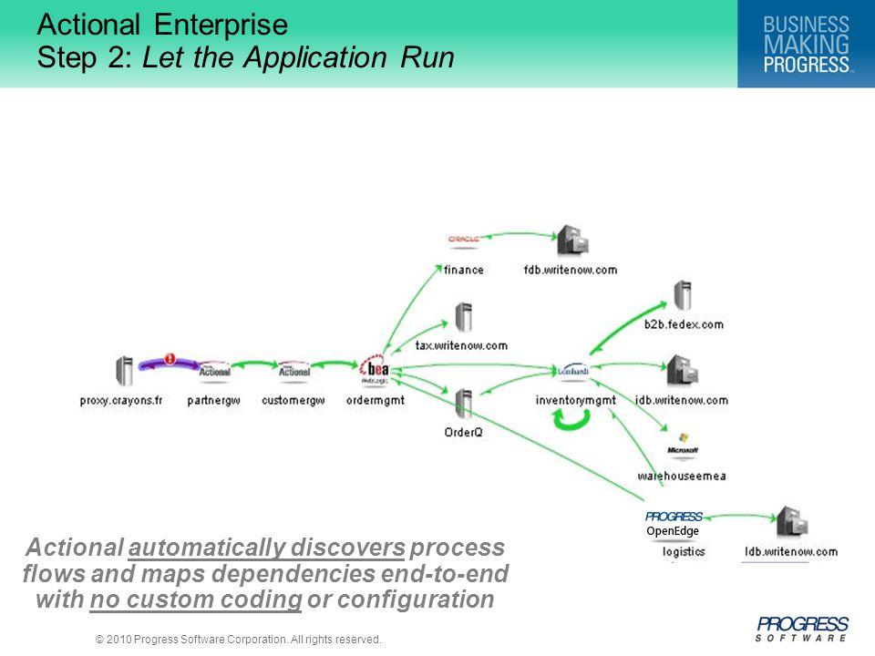 Actional Enterprise Step 2: Let the Application Run