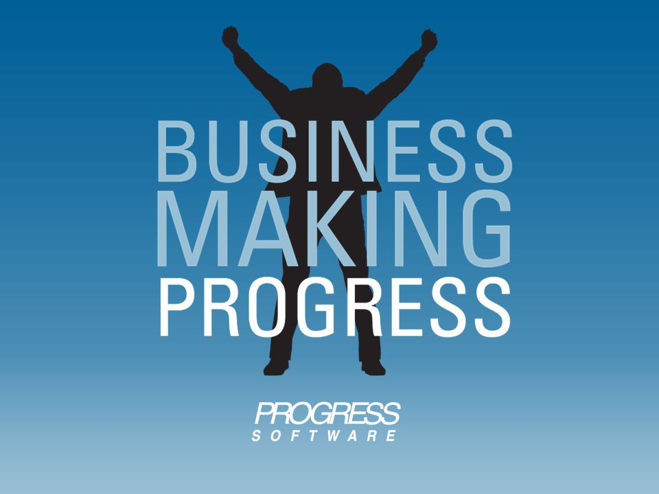 Funding and new media strategy focused on Progress company awareness, under the tagline Business Making Progress