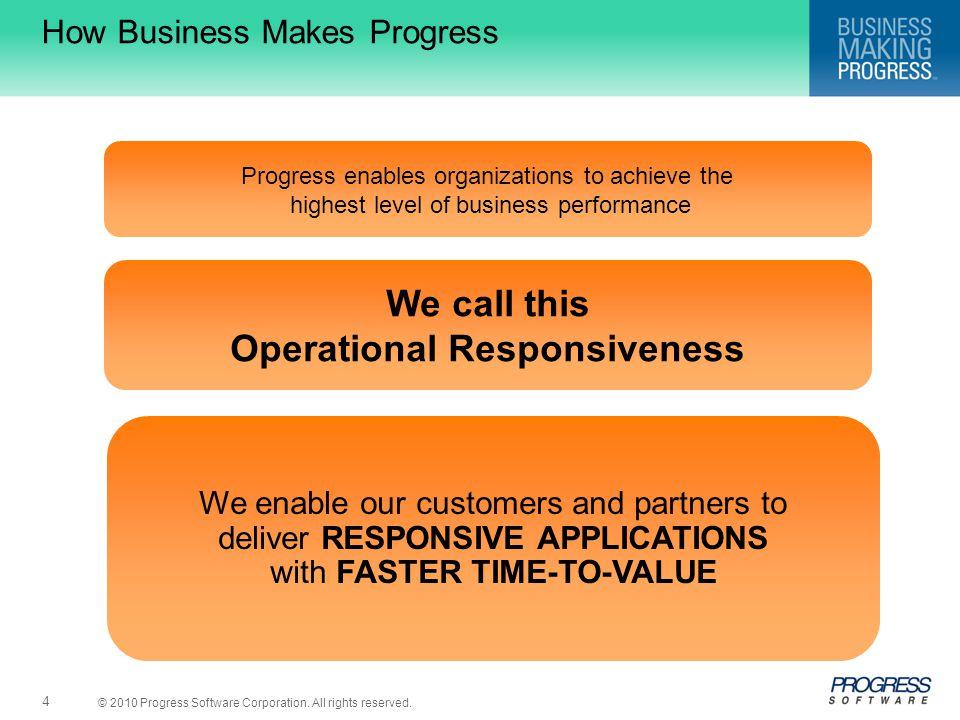 How Business Makes Progress