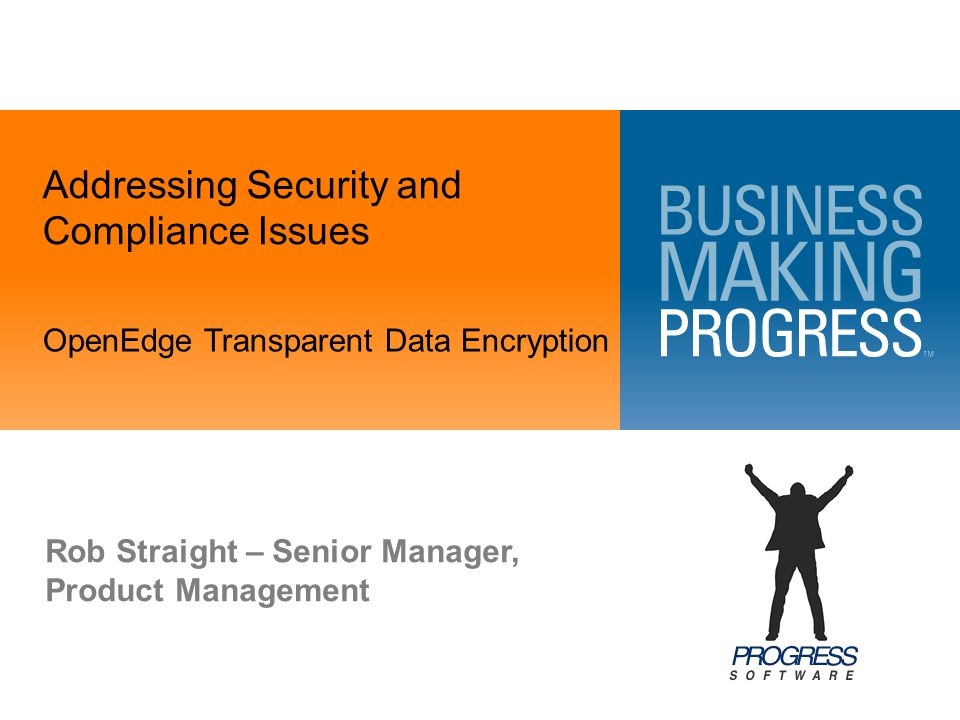 Addressing Security and Compliance Issues