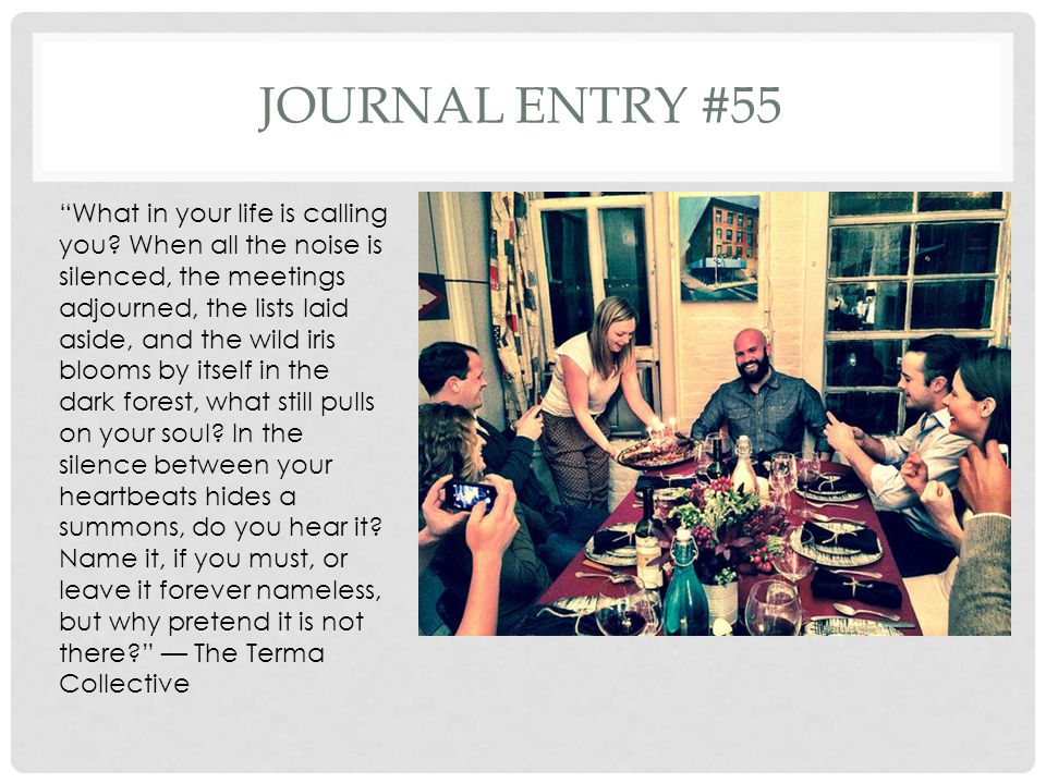 Journal entry #55