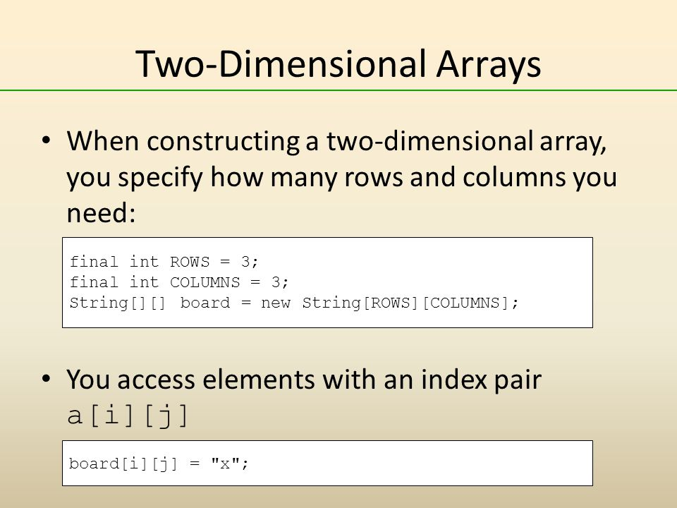 chapter 7 arrays and array lists   ppt download
