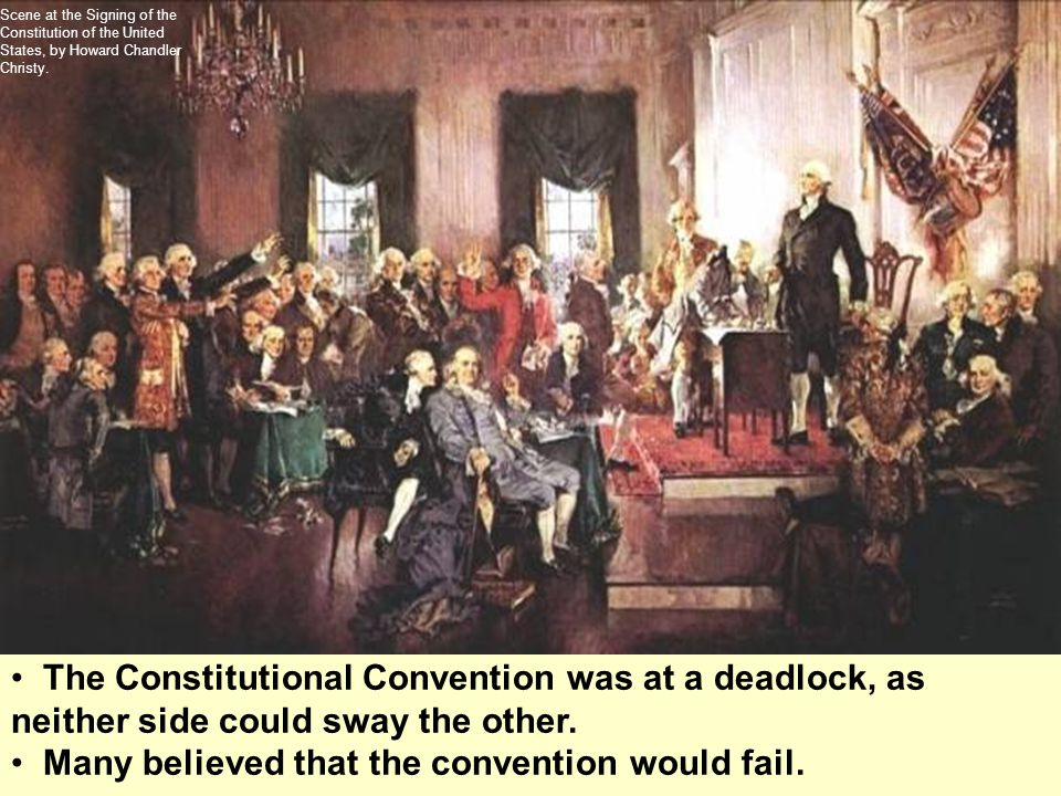 Many believed that the convention would fail.