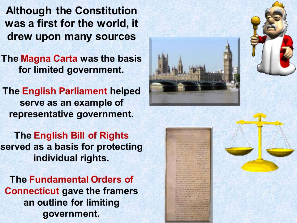 The Magna Carta was the basis for limited government.