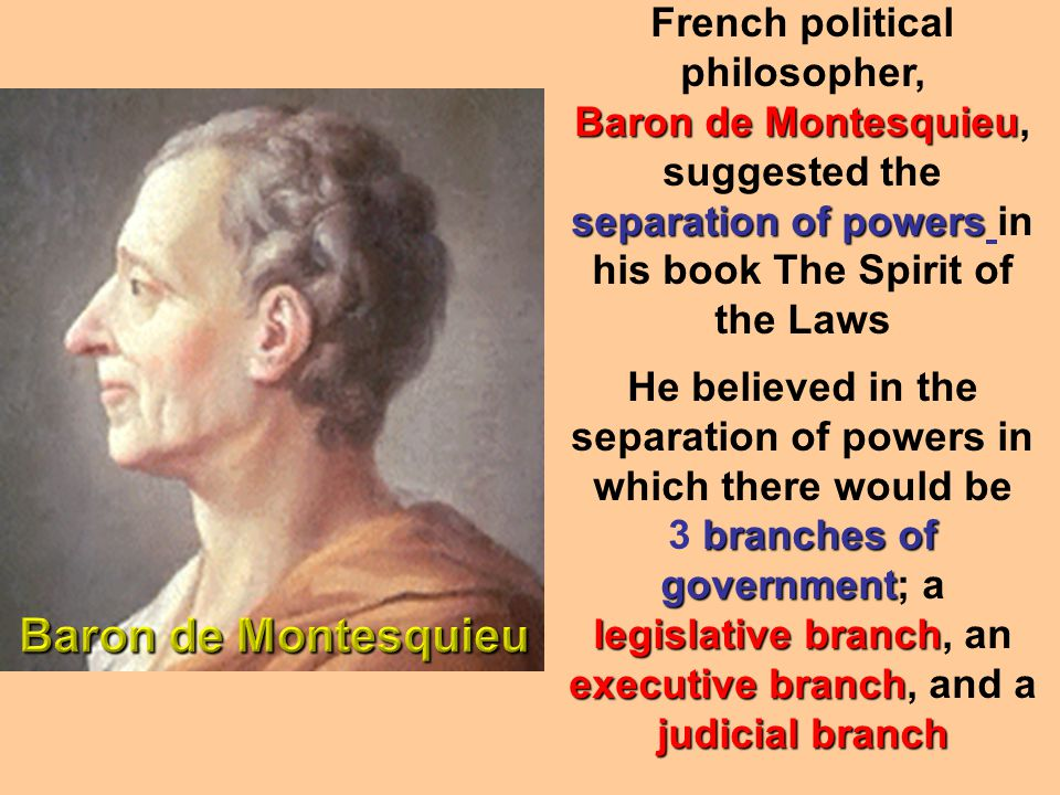 French political philosopher,