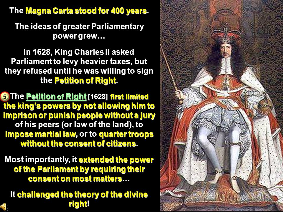 The Magna Carta stood for 400 years.