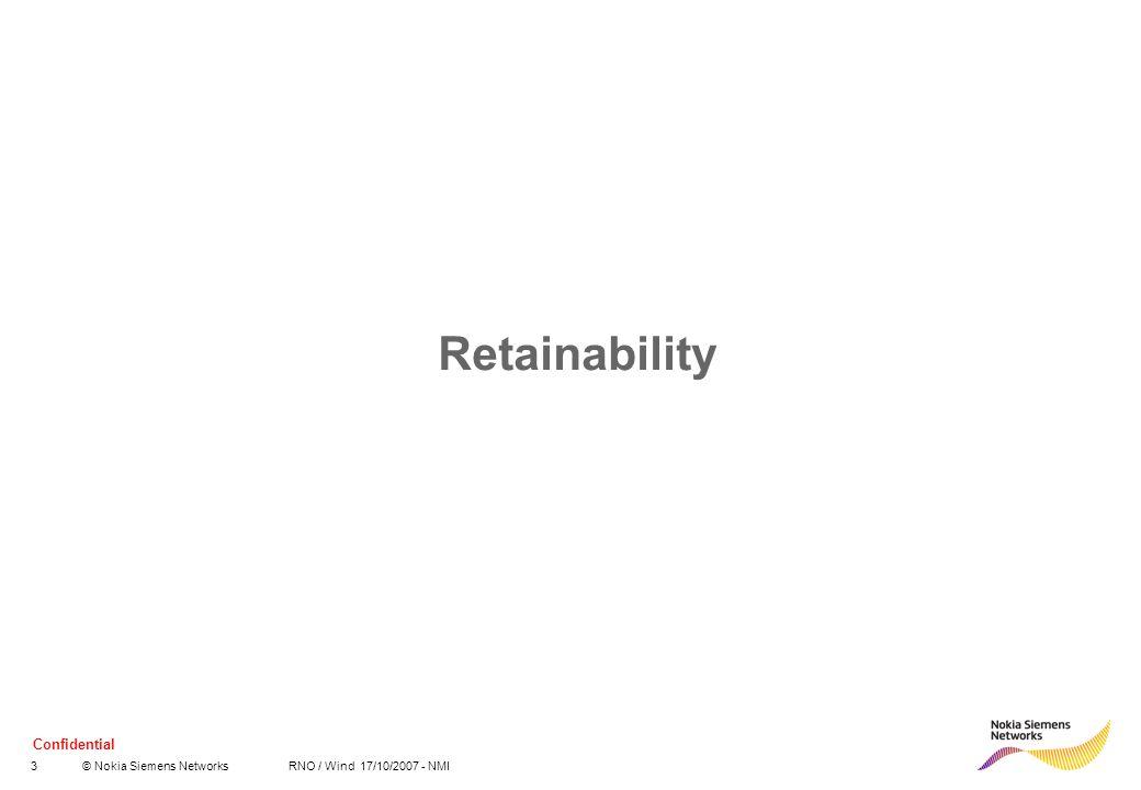 Retainability
