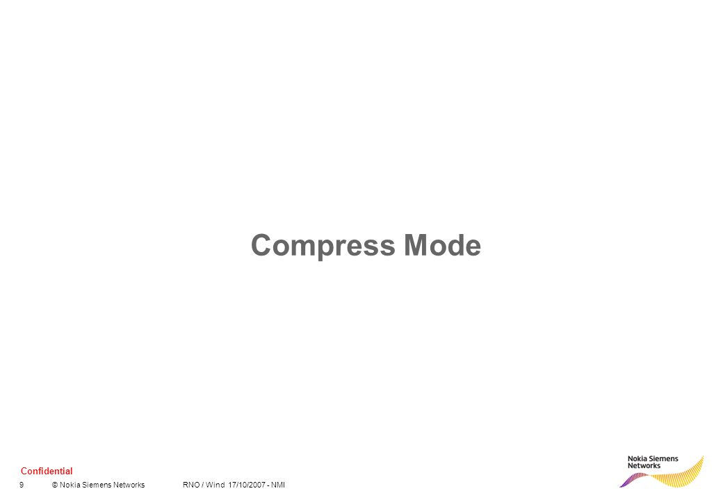 Compress Mode