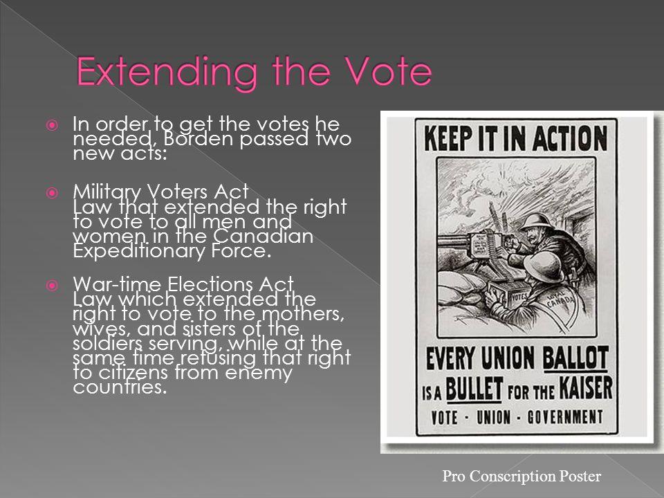 Pro Conscription Poster