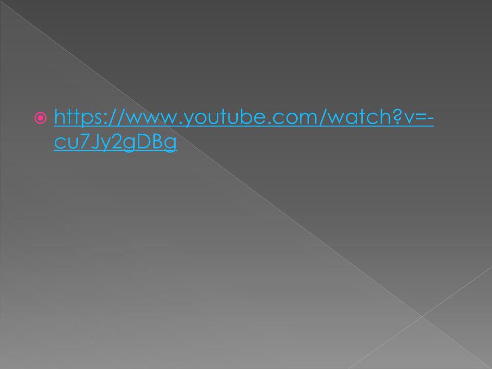 https://www.youtube.com/watch v=-cu7Jy2gDBg