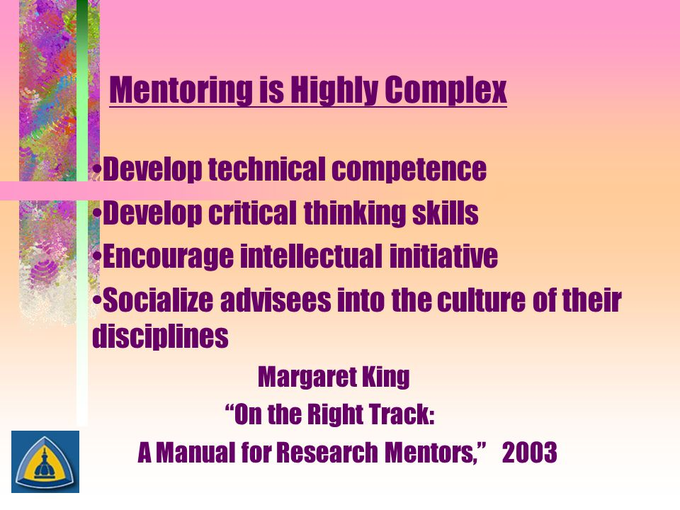 Mentoring is Highly Complex