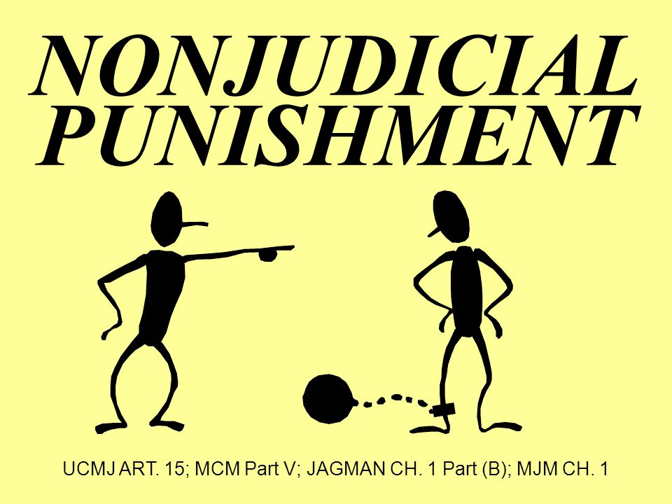NONJUDICIAL PUNISHMENT