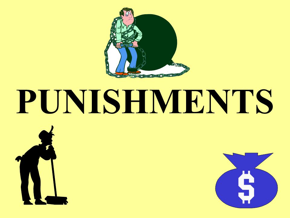 4/14/2017 PUNISHMENTS