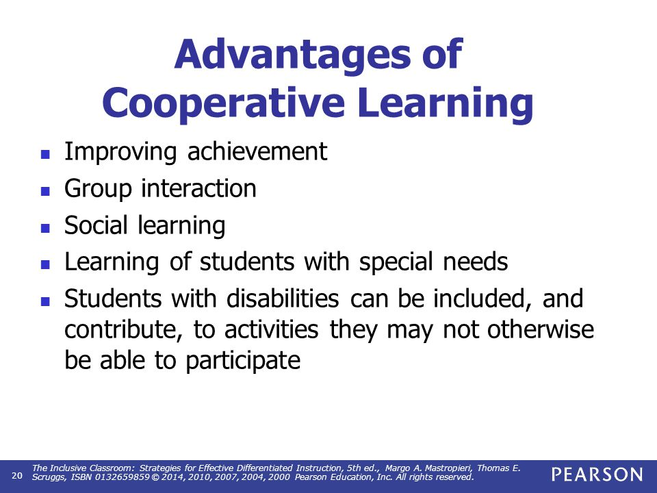 Challenges of Cooperative Learning