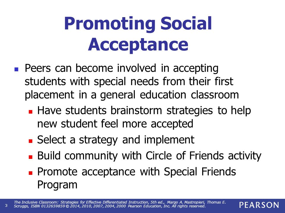 Peer Assistance Pairing students for the purpose of having one student available to assist another student when necessary.