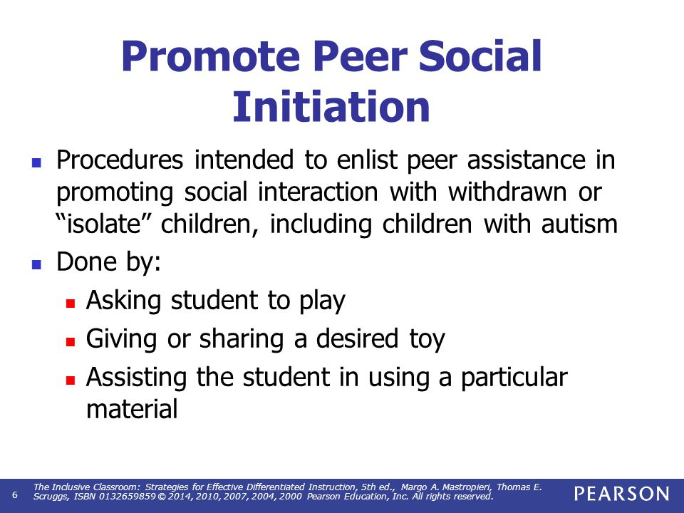 Promote Peer Social Initiation