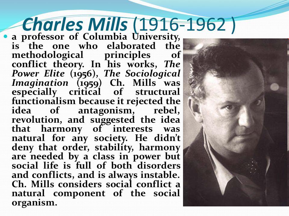 Charles Mills (1916-1962 )