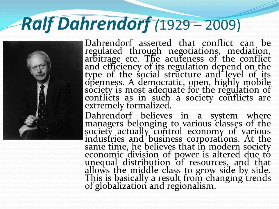 Ralf Dahrendorf (1929 – 2009)