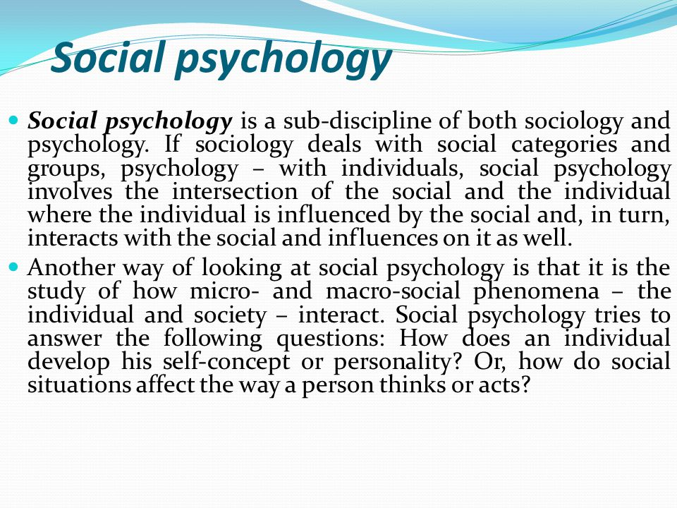 social psychology questions and answers pdf