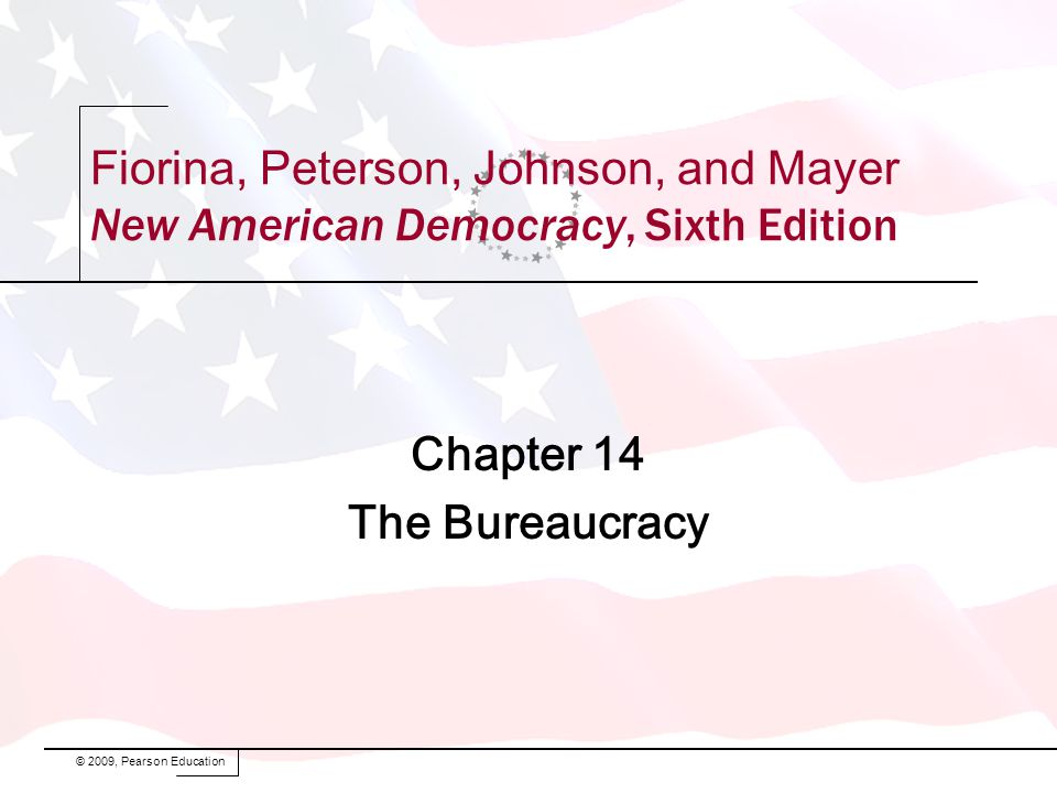 Chapter 14 The Bureaucracy