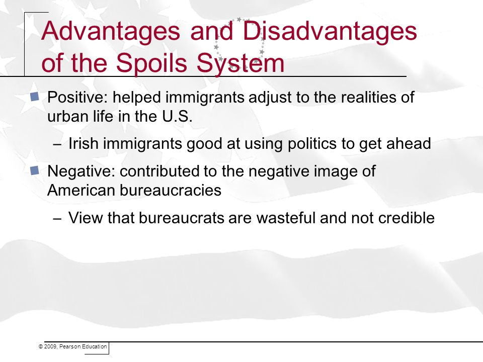 Advantages and Disadvantages of the Spoils System