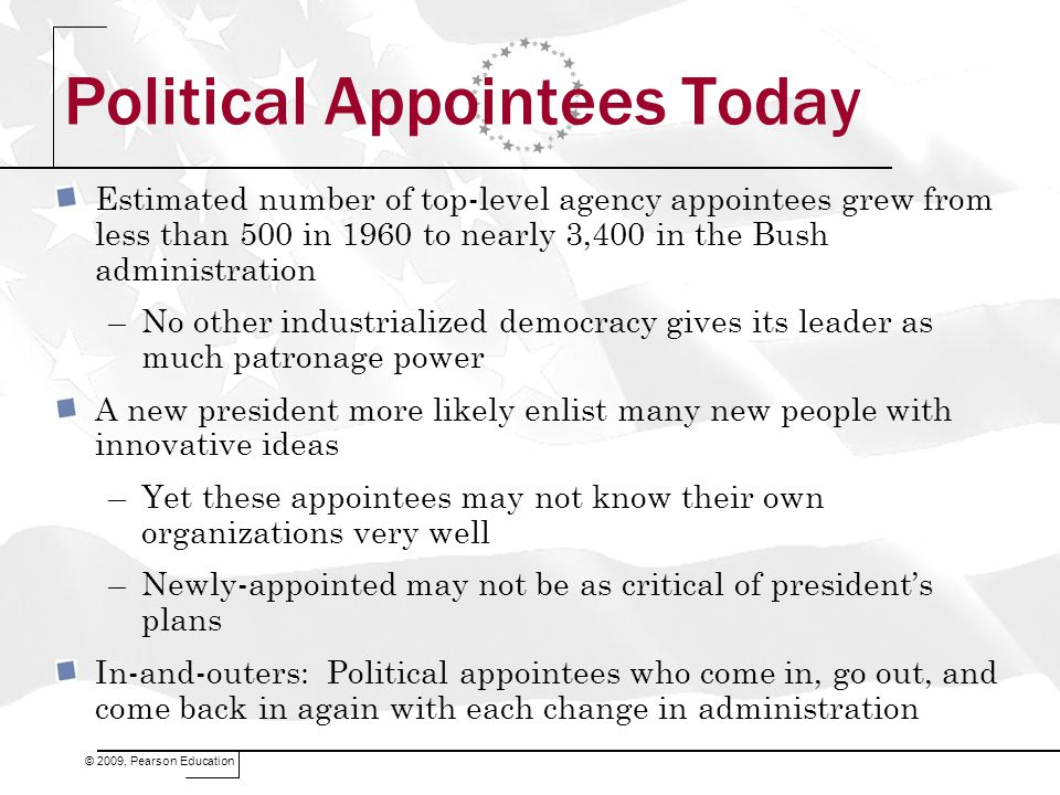 Political Appointees Today