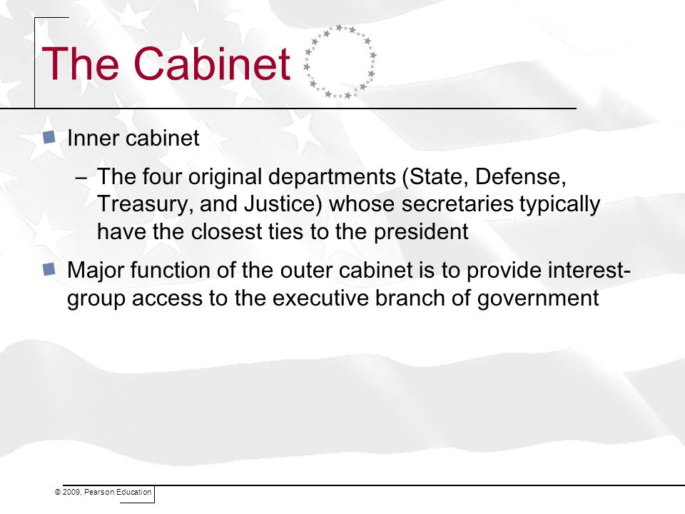 The Cabinet Inner cabinet