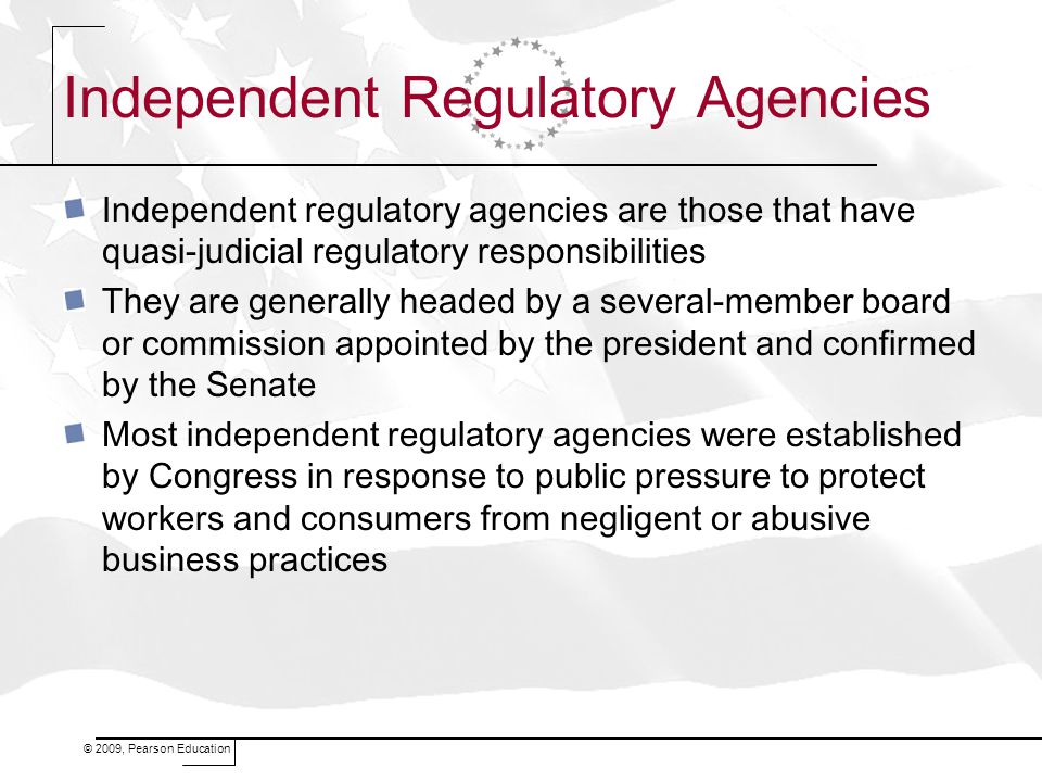 Independent Regulatory Agencies