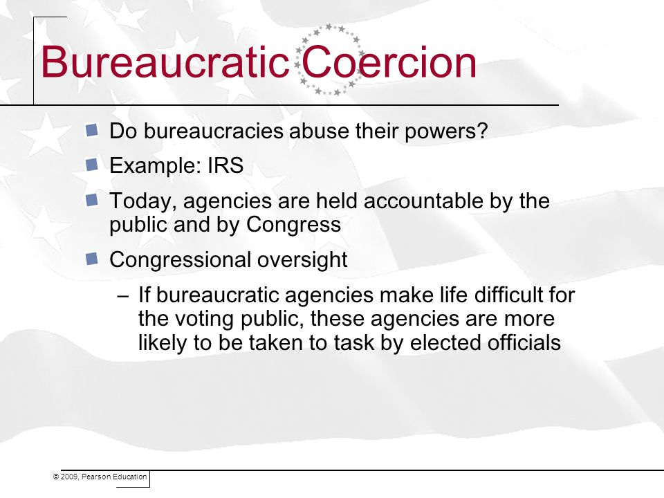 Bureaucratic Coercion