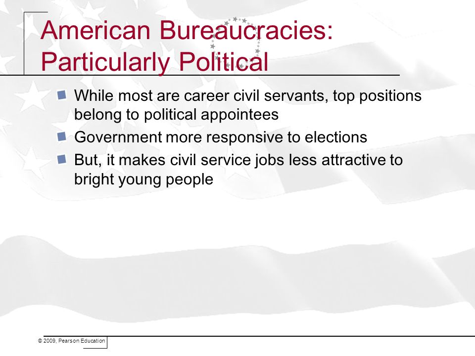American Bureaucracies: Particularly Political