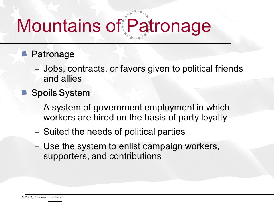 Mountains of Patronage