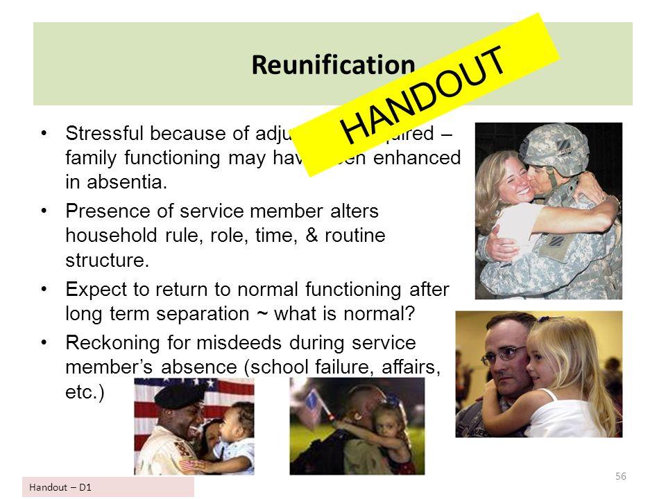 HANDOUT Reunification