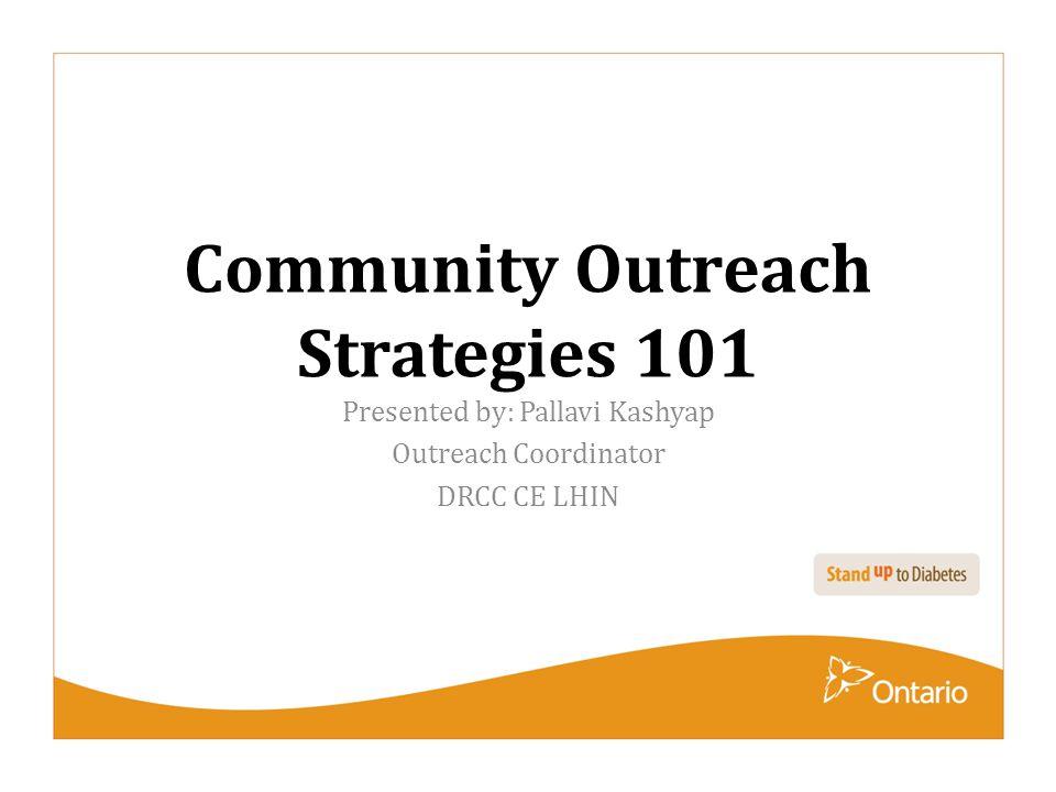 Community Outreach Strategies 101
