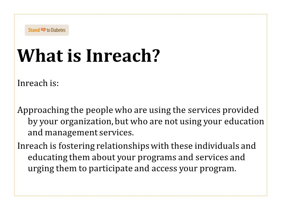 What is Inreach