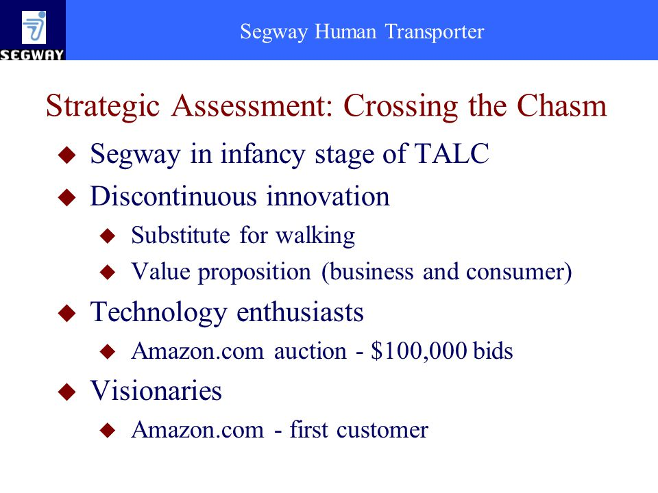 Strategic Assessment: Crossing the Chasm