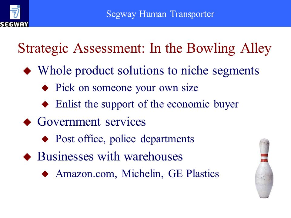 Strategic Assessment: In the Bowling Alley
